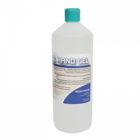 Desinfecterende Handgel  - 70% Alcohol - Bonnymans